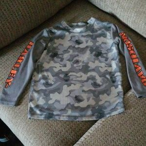 Boy's Harley Davidson's Camo Shirt
